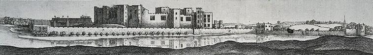Kenilworth Castle Panorama